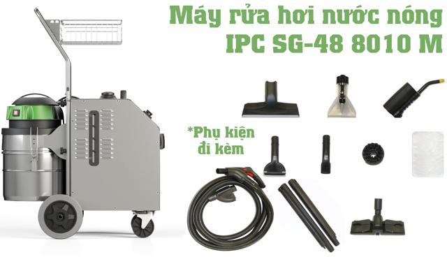 Máy rửa xe hơi nước nóng IPC SG-48 8010 M