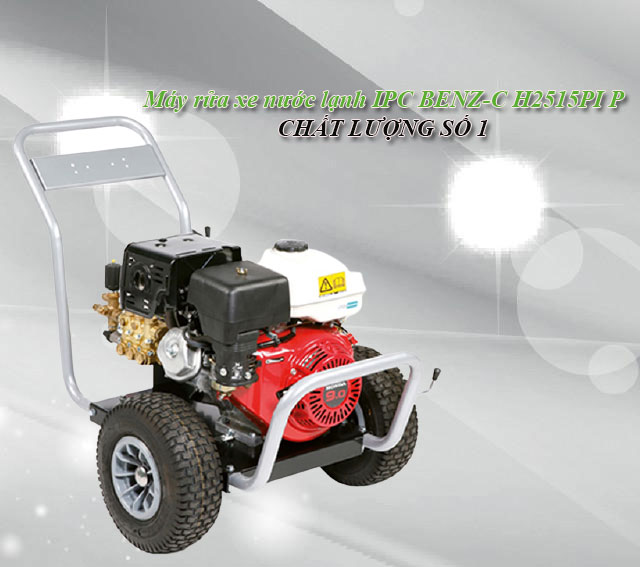 Máy rửa xe nước lạnh IPC BENZ-C H2515PI P