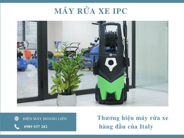 Máy rửa xe IPC - Thương hiệu hàng đầu của Italy