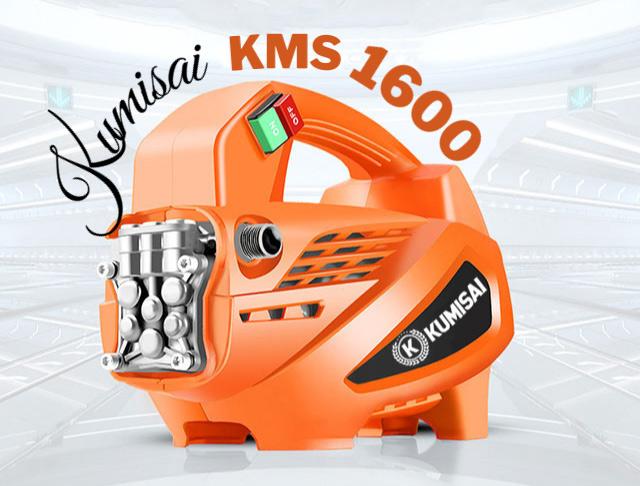 Model phun rửa xe Kumisai KMS 1600 có gì đặc biệt?