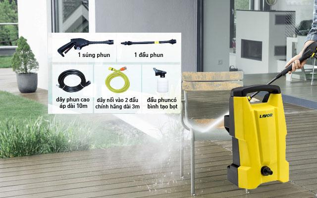 máy rửa xe gia đình Lavor SMART 120