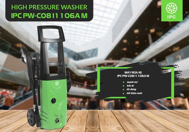 Máy rửa xe nước lạnh IPC PW-C08 I1106A M