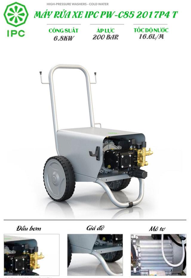 máy rửa xe nước lạnh IPC PW-C85 2017P4 T