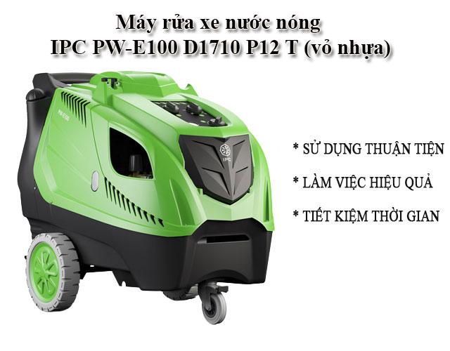 máy rửa xe IPC PW-E100 D1710 P12 T (vỏ nhựa)