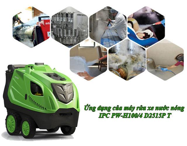 máy bơm rửa xe hơi nước nóng IPC PW-H100/4 D2515P T