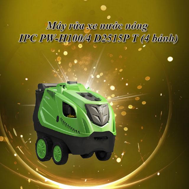 Máy rửa xe nước nóng IPC PW-H100/4 D2515P T (4 bánh)