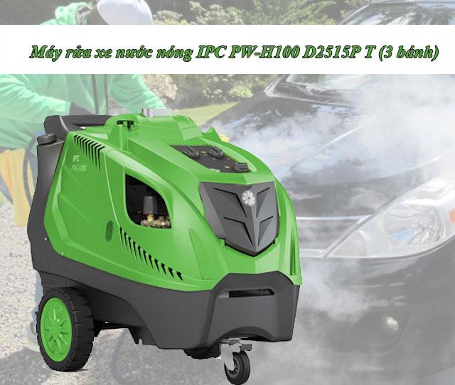 Máy rửa xe nước nóng IPC PW-H100 D2515P T (3 bánh)