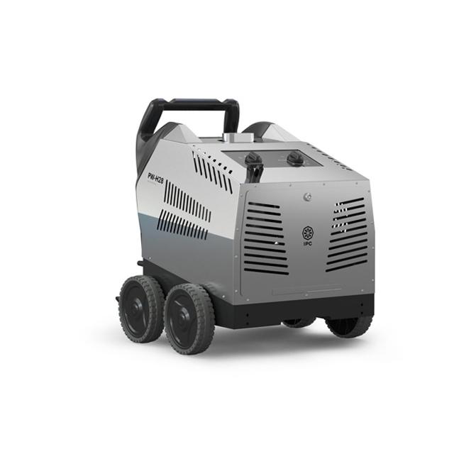 Máy rửa xe nước nóng IPC PW-H28/4 D1713P T (4 bánh, vỏ inox)