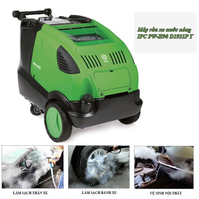 máy phun rửa xe nước nóng IPC PW-H90 D1921P T