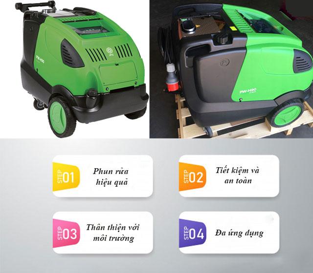 Máy rửa xe nước nóng IPC PW-H90 D1921P T giá rẻ
