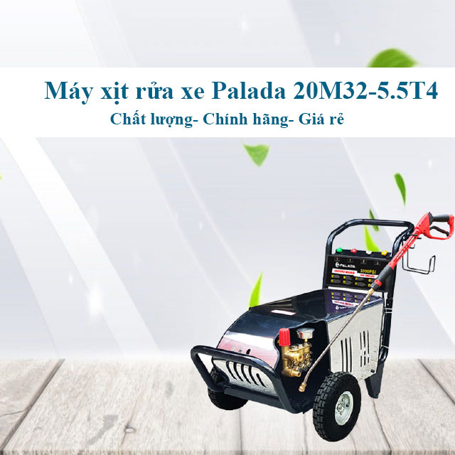 Máy xịt rửa xe Palada 20M32-5.5T4