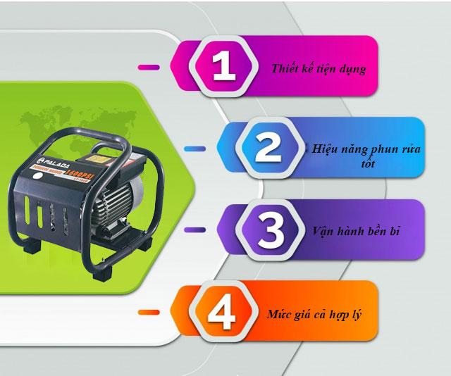 máy rửa xe Palada LT-390B 1.8KW