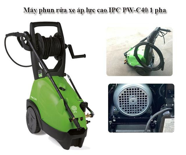Máy xịt rửa cao áp IPC PW-C40 1 pha chính hãng