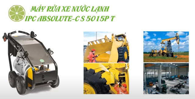 Máy xịt rửa xe nước lạnh IPC ABSOLUTE-C S 5015P T
