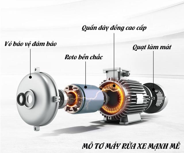 Máy xịt rửa xe nước lạnh IPC DIESEL-C L2017P D (ELECTRIC STARTER)