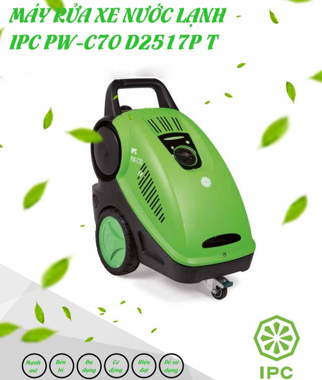 Máy xịt rửa xe nước lạnh IPC PW-C70 D2517P T