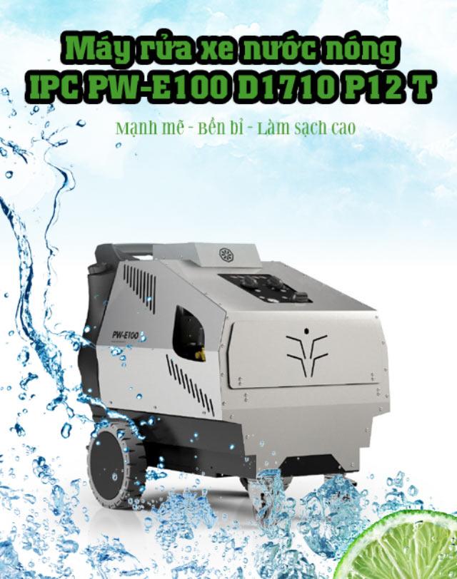 Máy xịt rửa xe nước nóng IPC PW-E100 D1710 P12 T