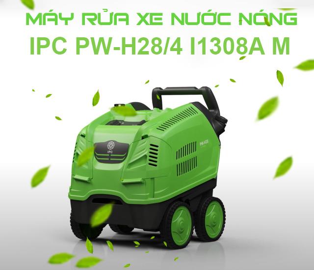 Máy xịt rửa xe nước nóng IPC PW-H28/4 I1308A M (4 bánh, vỏ nhựa)