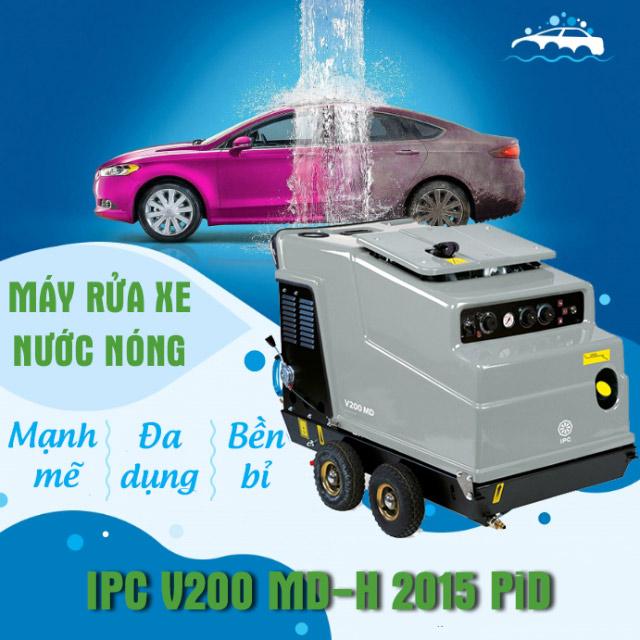 Máy xịt rửa xe nước nóng IPC V200 MD-H 2015 PiD