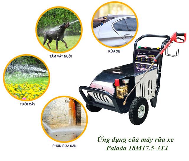 máy rửa xe giá rẻ Palada 18M17.5-3T4