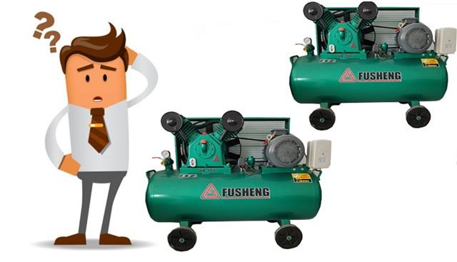 Mua máy nén hơi Fusheng chính hãng ở đâu?