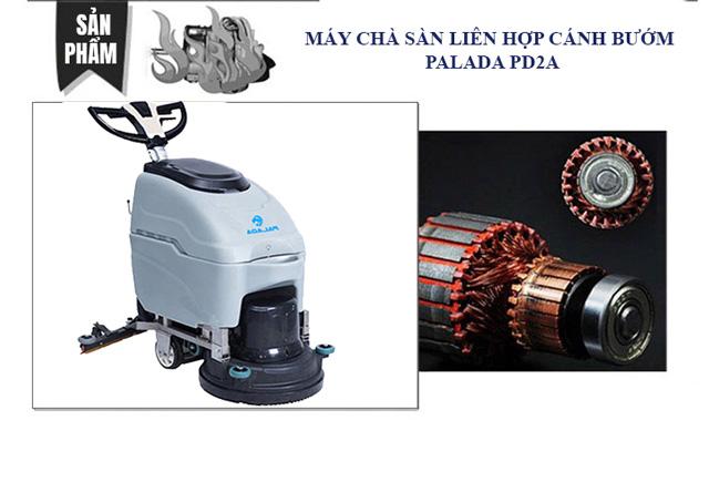 Nguyên lý hoạt động của máy chà sàn Palada