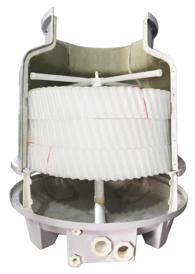 Tấm tản nhiệt tròn cho tháp tản nhiệt