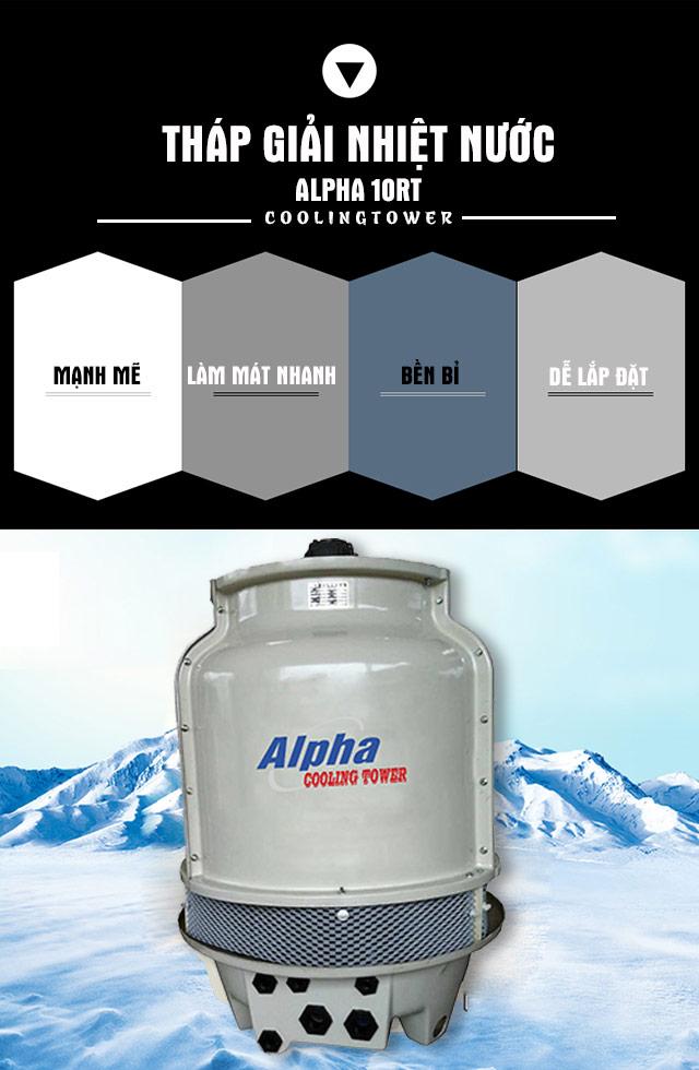 Tháp tản nhiệt Alpha 10RT