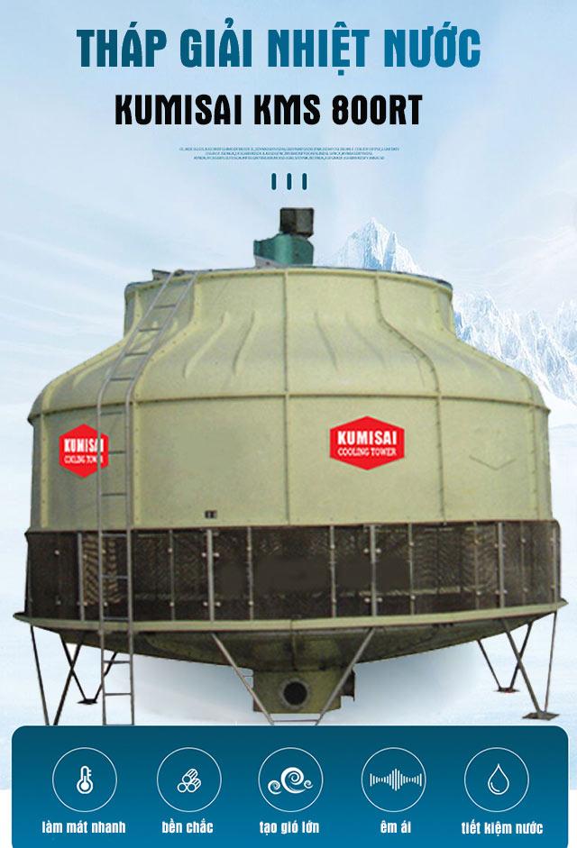 Tháp giải nhiệt nước Kumisai KMs 800RT