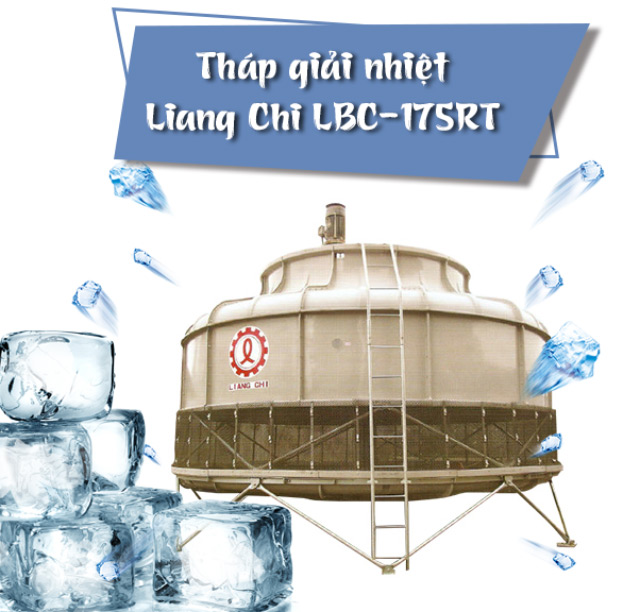 Tháp giải nhiệt nước Liang Chi LBC-175RT