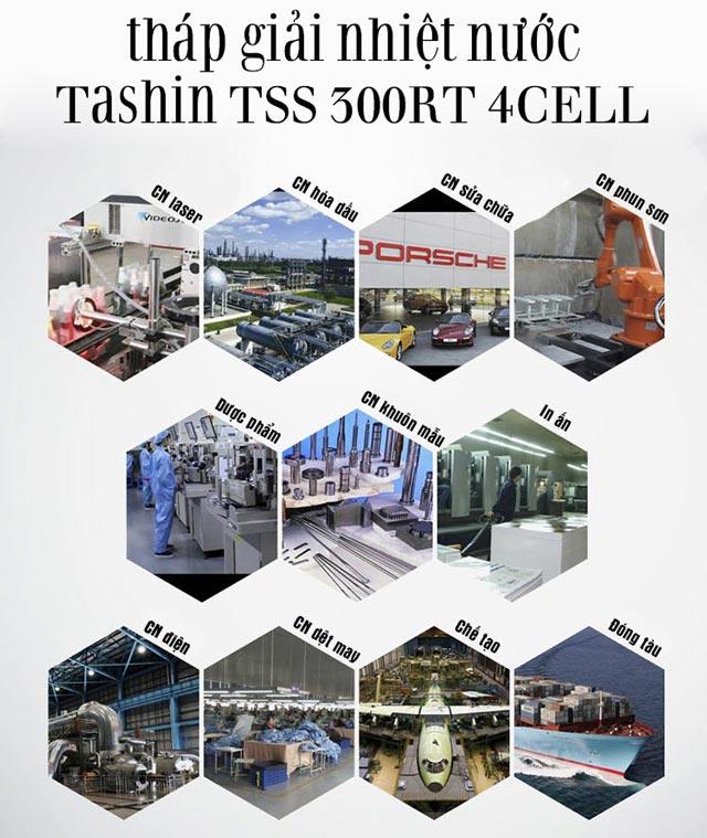 Tháp giải nhiệt nước Tashin TSS 300RT