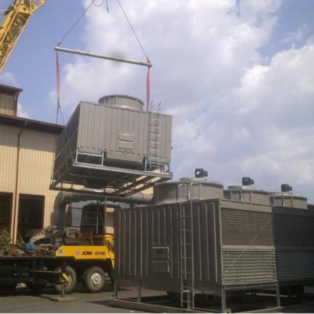 Tháp giải nhiệt nước Tashin TSS 300RT*4cell*2 tổ