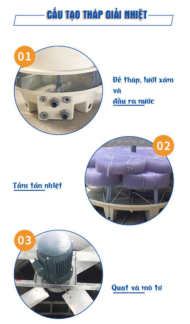 Tháp giảm nhiệt Liang Chi LCB-10RT