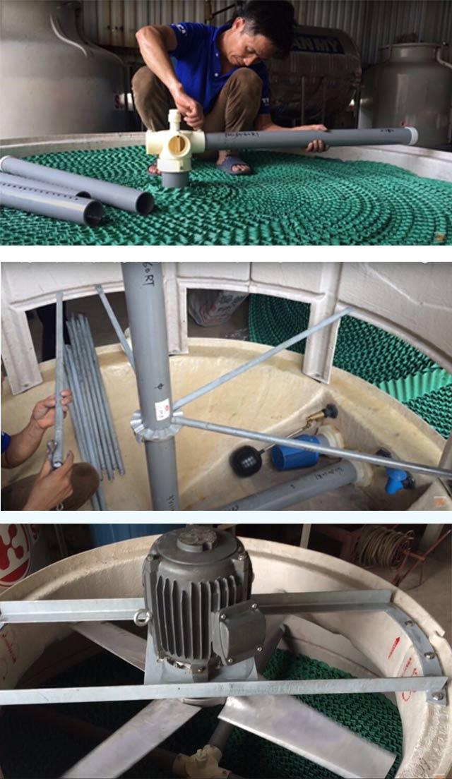 Tháp giảm nhiệt Liang Chi LCB-8RT