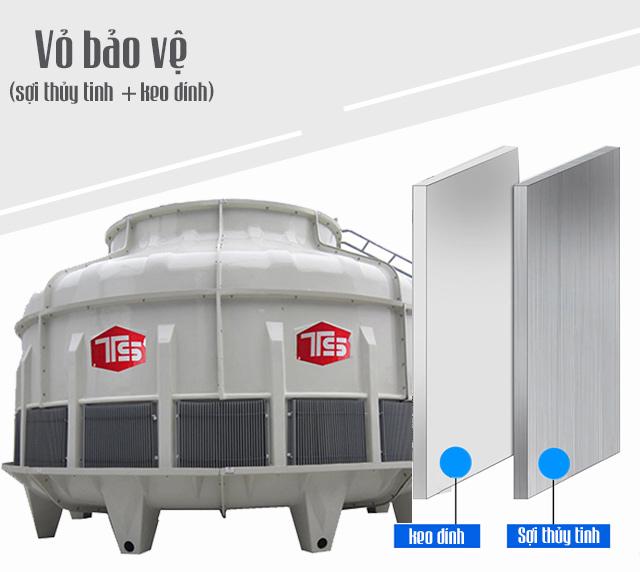 Tháp giảm nhiệt nước Tashin TSC 250Rt