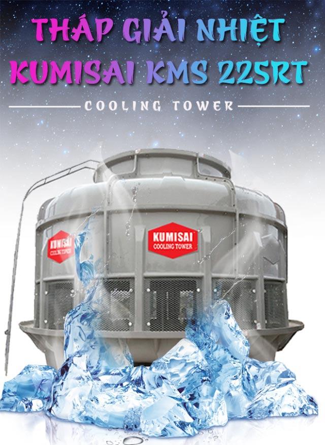 Tháp hạ nhiệt Kumisai KMS 225RT