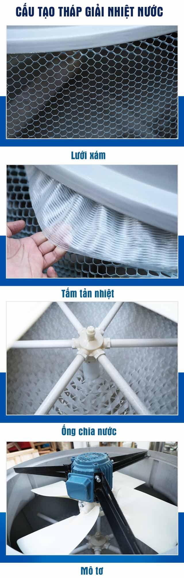 Tháp hạ nhiệt nước Liang Chi LBC-15RT