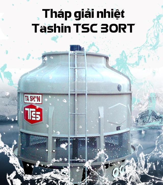Tháp hạ nhiệt nước Tashin TSC 30RT