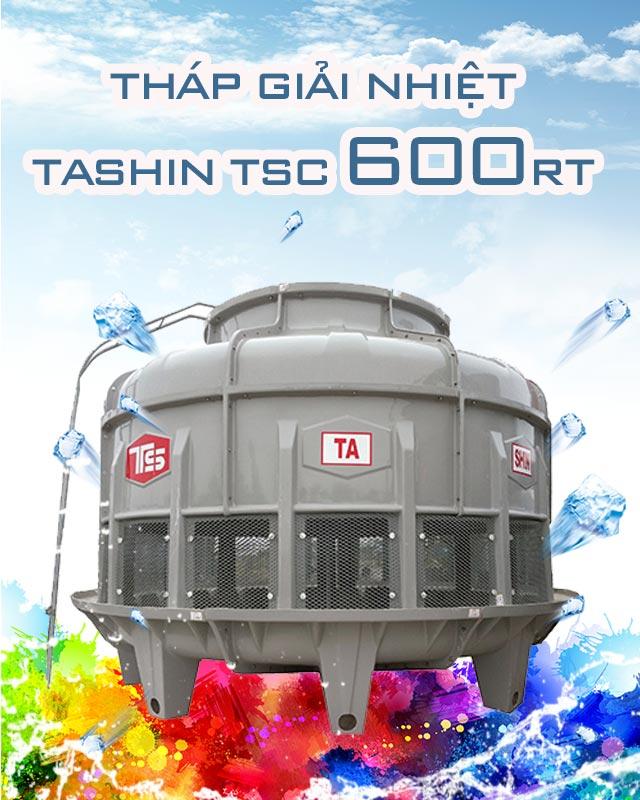 Tháp hạ nhiệt nước Tashin TSc 600RT
