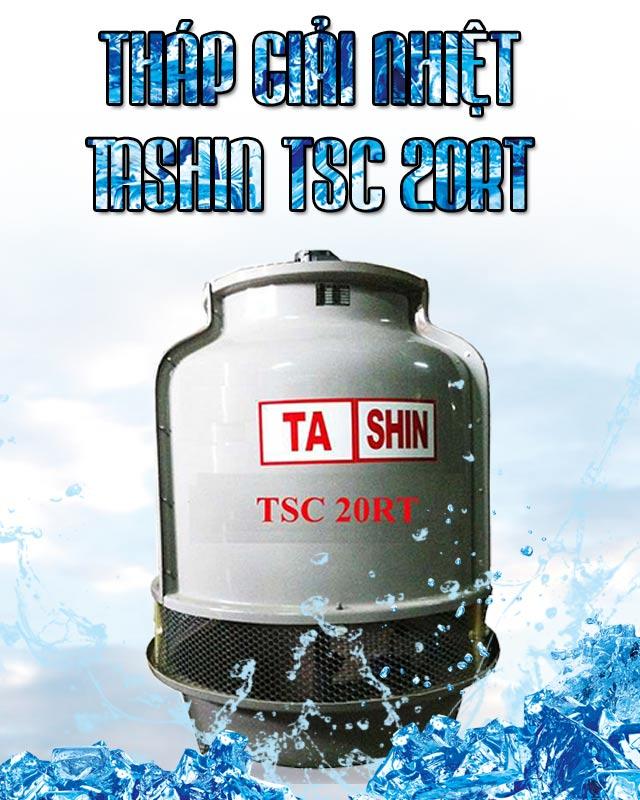 Tháp hạ nhiệt Tashin TSC 20Rt