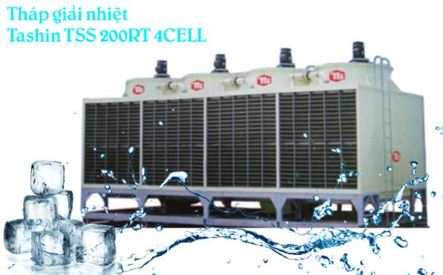 Tháp hạ nhiệt Tashin TSS 200RT 4CELL
