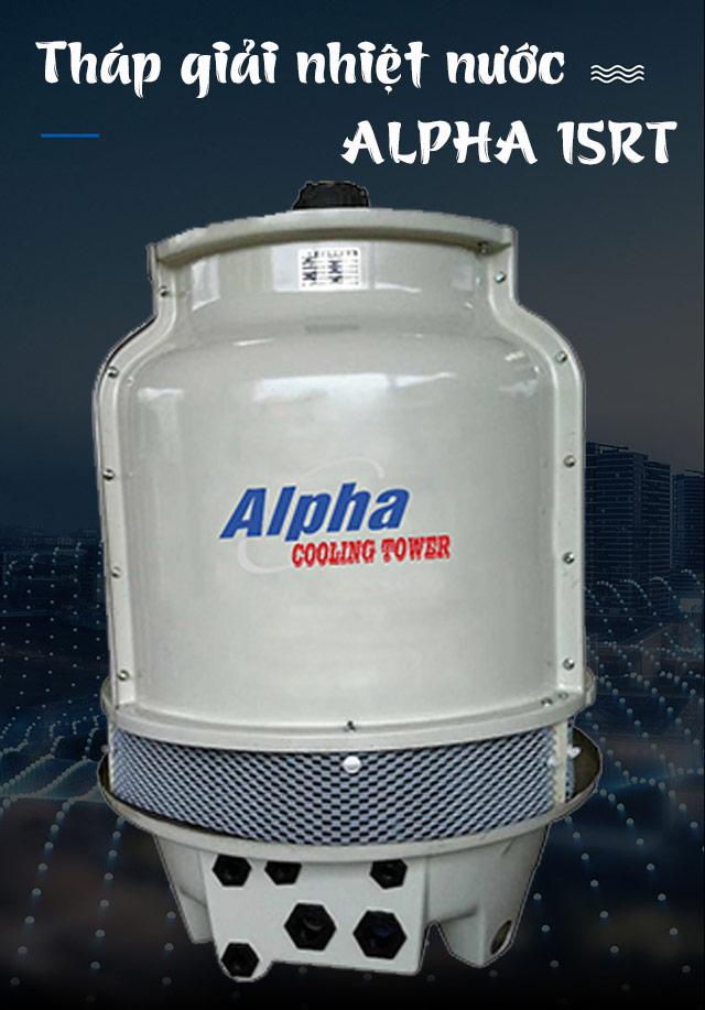 Tháp làm mát nước Alpha 15RT