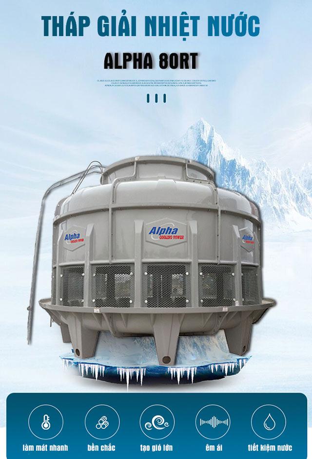 Tháp làm mát nước Alpha 80RT