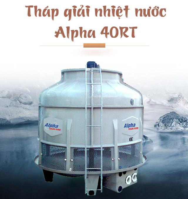 Tháp làm mát nước Alpha 40RT