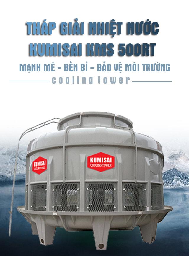 tháp làm mát nước Kumisai KMS 500RT