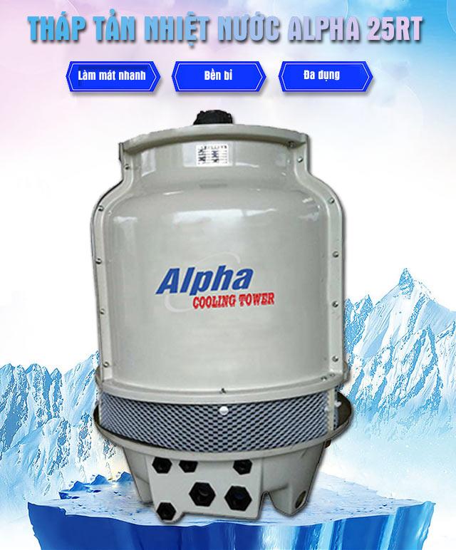 Tháp tản nhiệt nước Alpha 25RT