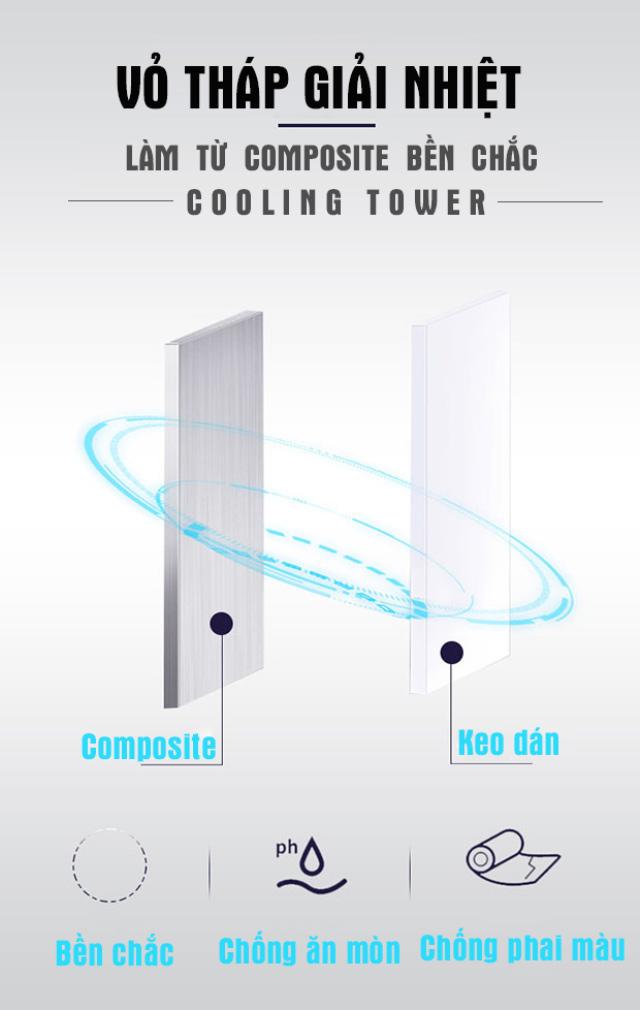 Tháp làm tản nhiệt Alpha 80RT