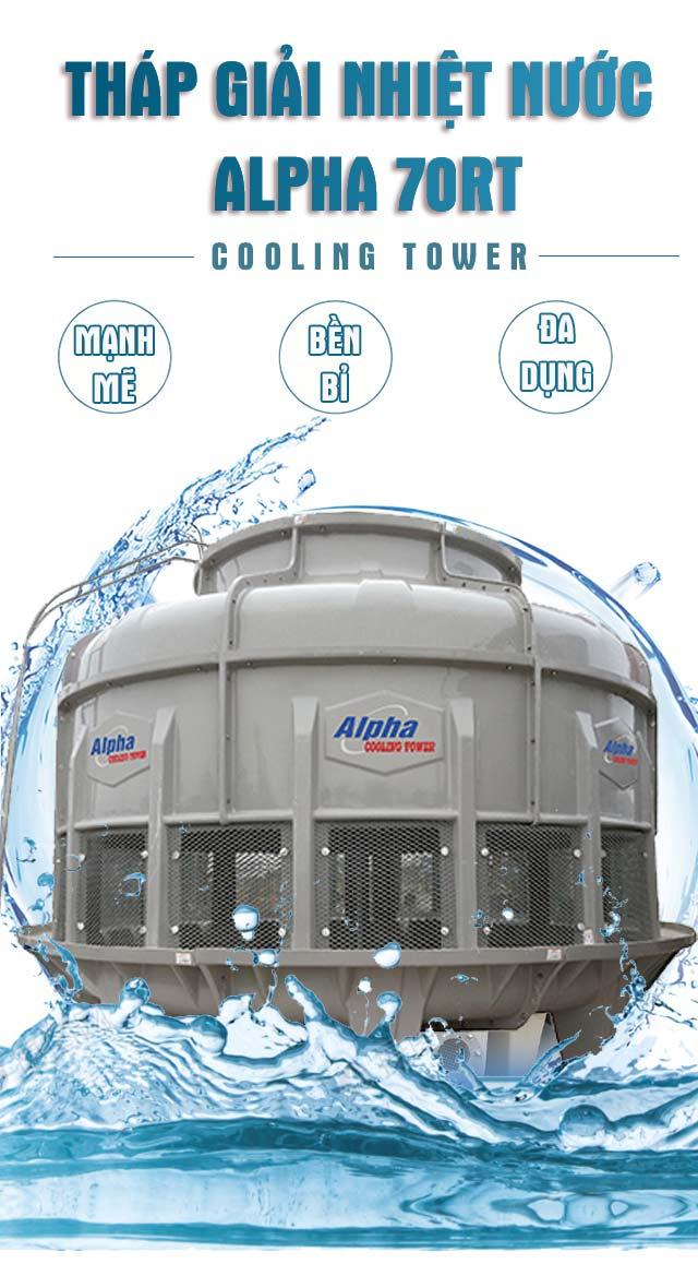 Tháp tản nhiệt nước Alpha 70RT