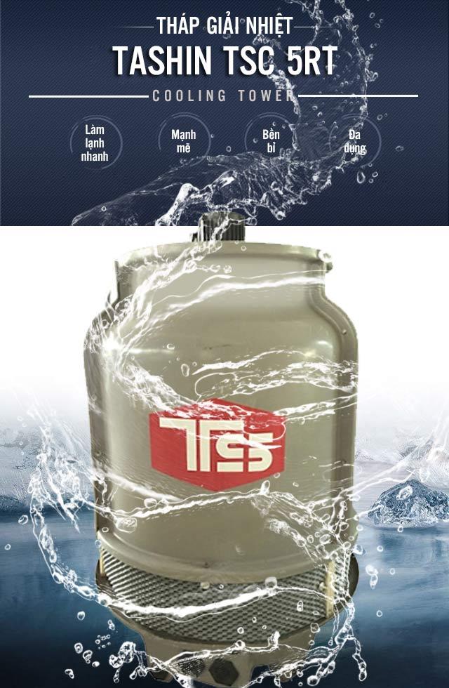 Tháp tản nhiệt Tashin TSC 5RT