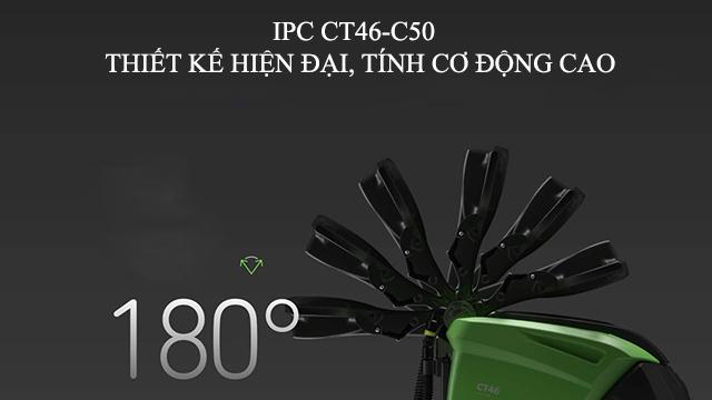 Model IPC CT46-C50 - Thiết kế hiện đại, linh động